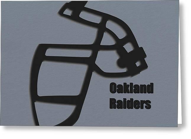 Oakland Raiders Retro Greeting Card