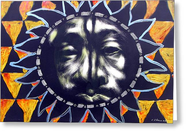 Oakland Sunshine Greeting Card by Chester Elmore