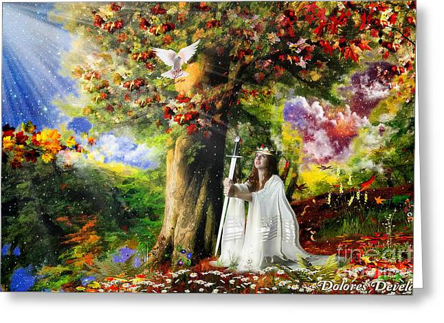Oaks Of Righteousness Greeting Card