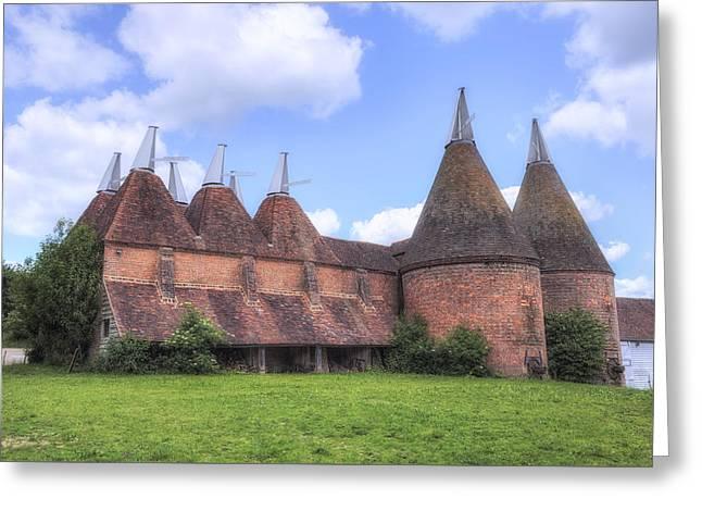 Oast Houses - England Greeting Card