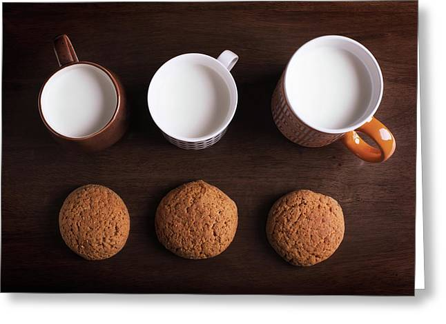 Oatmeal Cookies Greeting Card