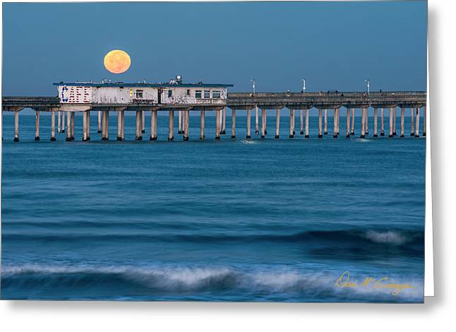Greeting Card featuring the photograph O B Morning by Dan McGeorge