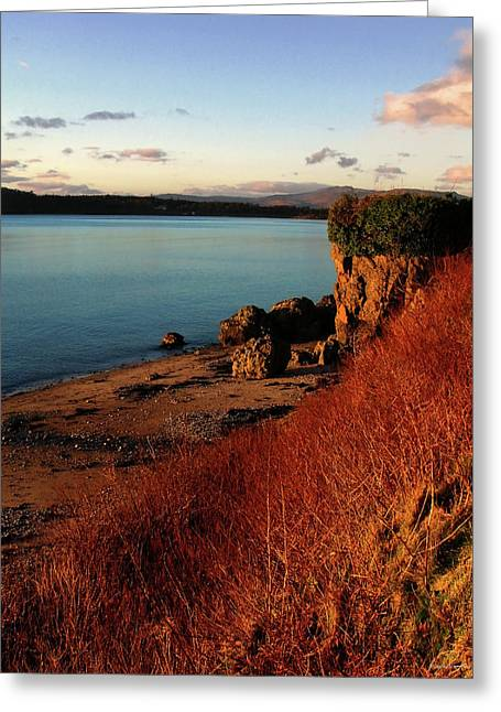 Oban Sunset Greeting Card