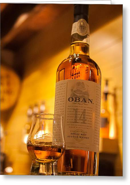 Oban Whisky Greeting Card