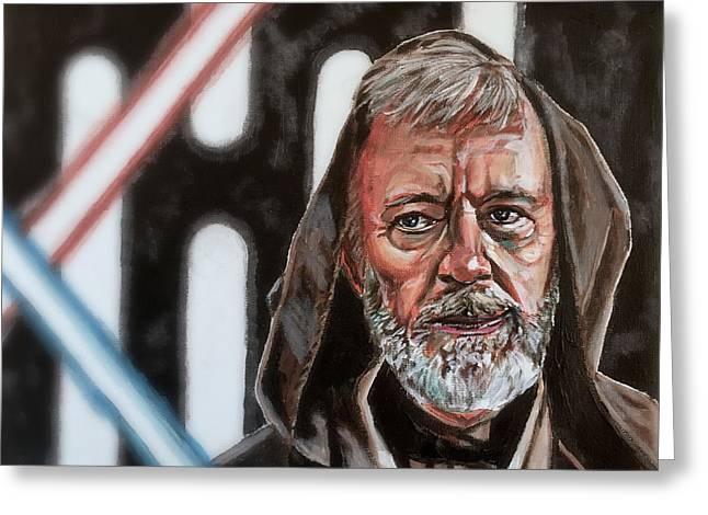 Obi-wan Kenobi's Last Stand Greeting Card
