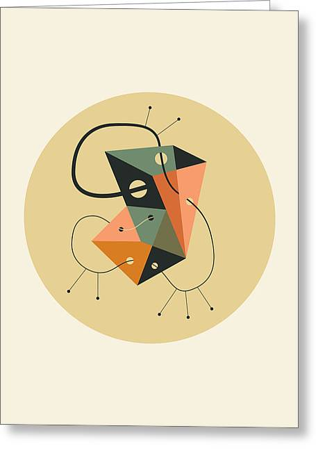 Objectified 21 Greeting Card by Jazzberry Blue