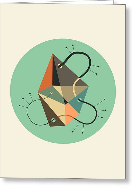 Objectified 23 Greeting Card by Jazzberry Blue