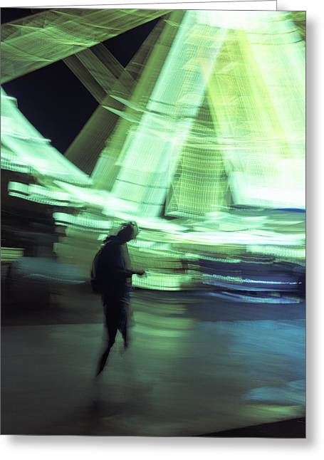 Greeting Card featuring the photograph Oblivion by Alex Lapidus