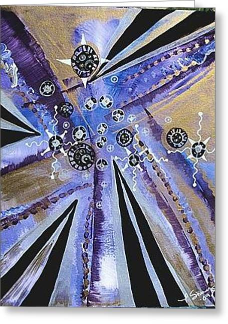 Oblivion And Beyond Greeting Card by Tara Shuey