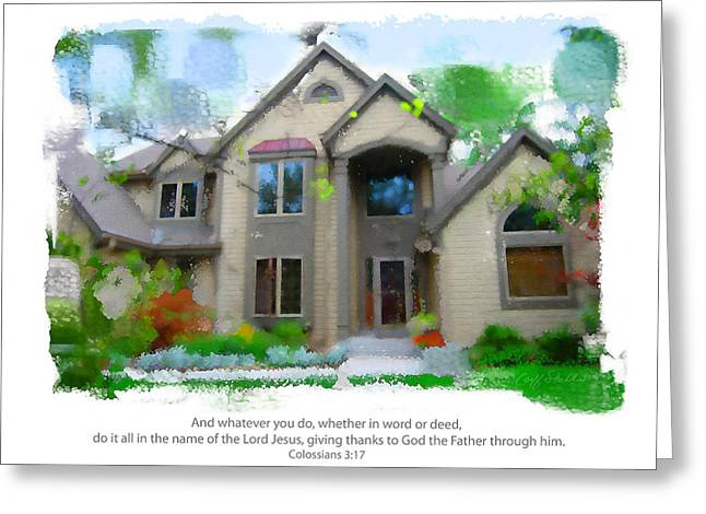 Obrien Home 2 Greeting Card
