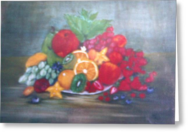 Obst Greeting Card by Rosario Triglia