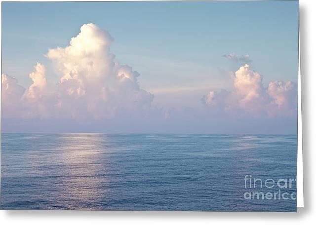 Ocean And Sky Greeting Card