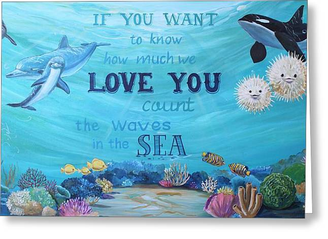 Ocean Baby Greeting Card by Michelle Lake