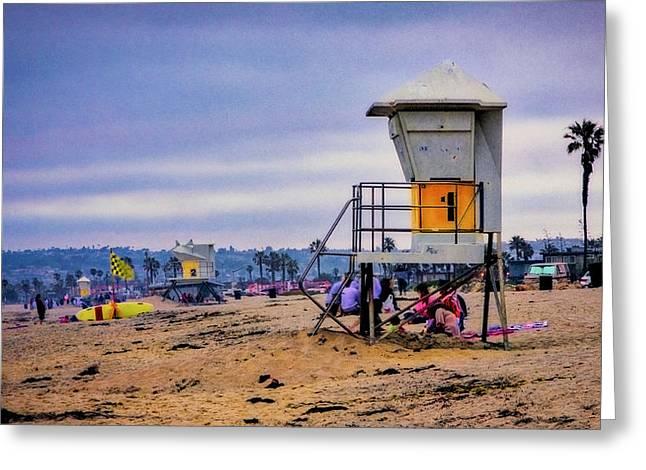 Ocean Beach Greeting Card