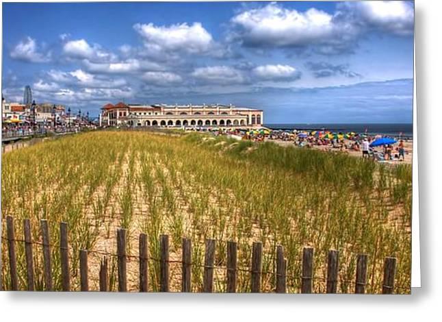 Ocean City Panorama Greeting Card