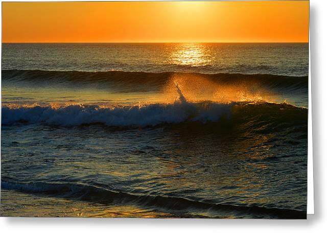 Ocean Dreams Greeting Card by Dianne Cowen