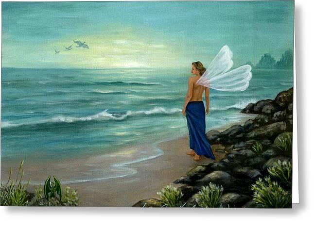 Ocean Fairy Greeting Card