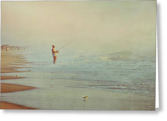 Ocean Fishing Greeting Card by JAMART Photography