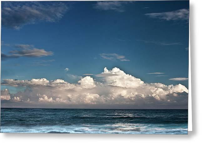 Ocean Horizon Greeting Card