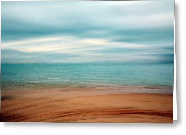Ocean Impressions Greeting Card