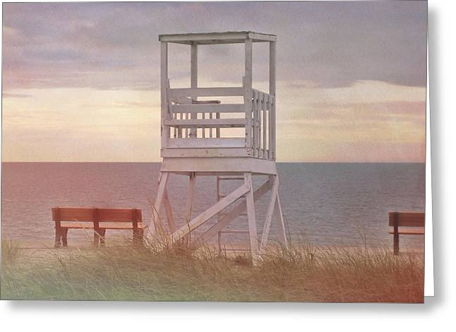 Ocean Lookout Greeting Card by JAMART Photography