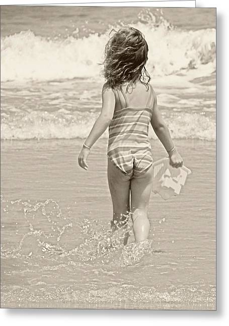 Ocean Moment Greeting Card by JAMART Photography