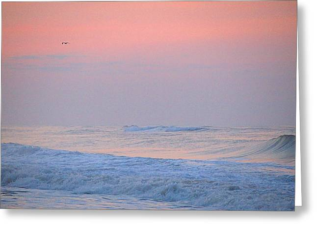 Ocean Peace Greeting Card by  Newwwman