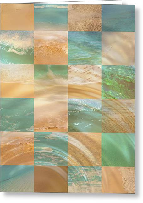Ocean Ripples Greeting Card