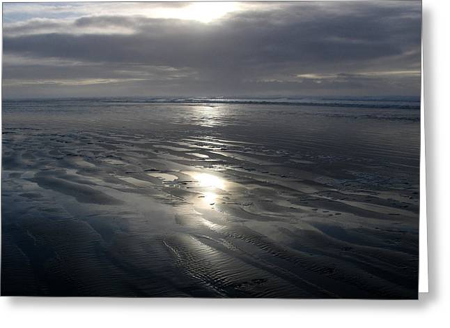 Ocean Shores  Greeting Card by Ty Nichols