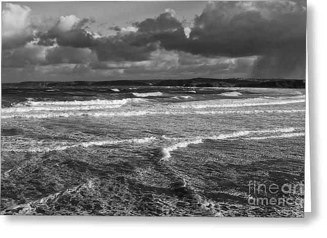 Ocean Storms Greeting Card