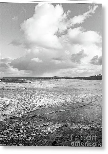 Ocean Texture Study Greeting Card