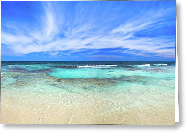 Greeting Card featuring the photograph Ocean Tranquility, Yanchep by Dave Catley