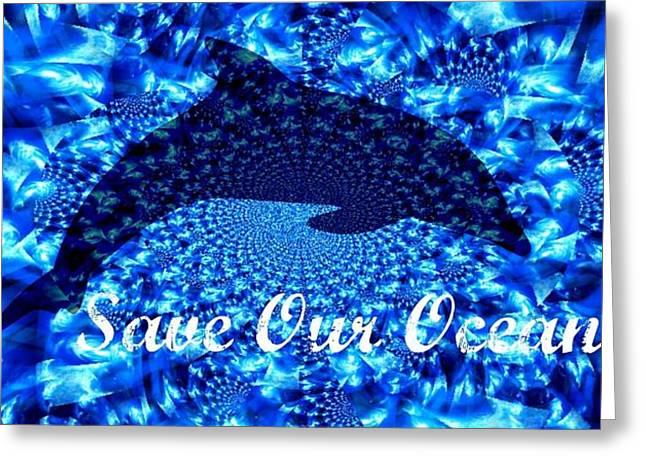 Ocean Waters Greeting Card
