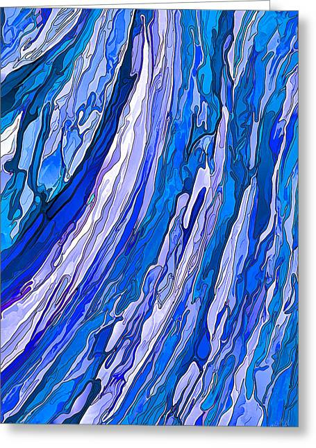 Ocean Wave Greeting Card by ABeautifulSky Photography