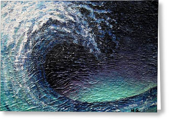 Ocean Wave Greeting Card