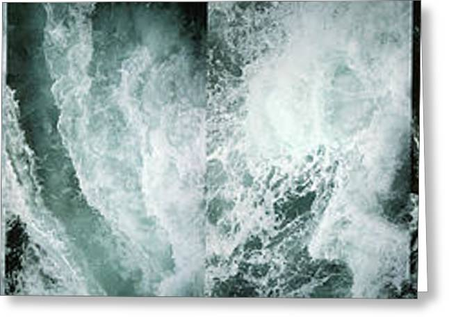 Greeting Card featuring the photograph Ocean Waves - Ocean Waves - Ocean Waves.... by Urft Valley Art
