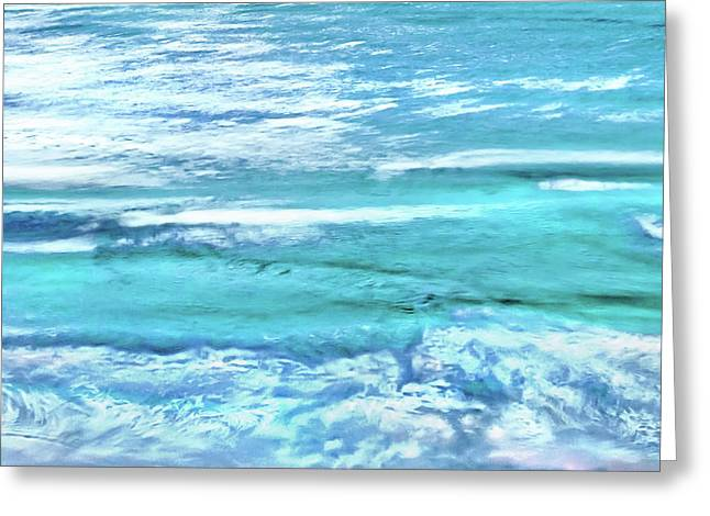 Oceans Of Teal Greeting Card