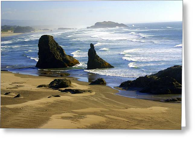 Oceanscape Greeting Card by Marty Koch