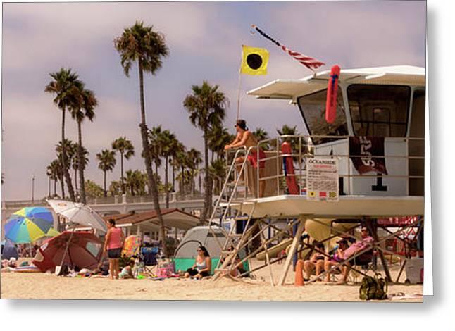 Oceanside Beach Greeting Card