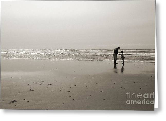 Oceanside Discovery 2 - Toned Greeting Card