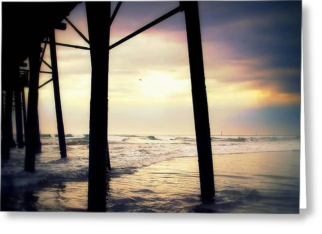 Greeting Card featuring the photograph Oceanside - Late Afternoon by Glenn McCarthy