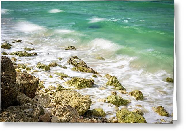 Oceanside In Trelawny, Jamaica Greeting Card