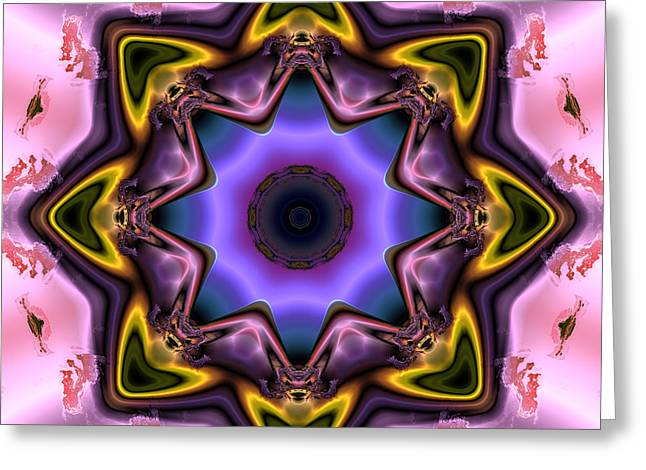 Algorithmic Abstract Greeting Cards - Ocf 481 Greeting Card by Claude McCoy