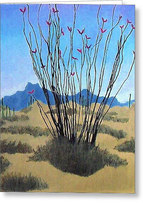 Ocotillo Greeting Card