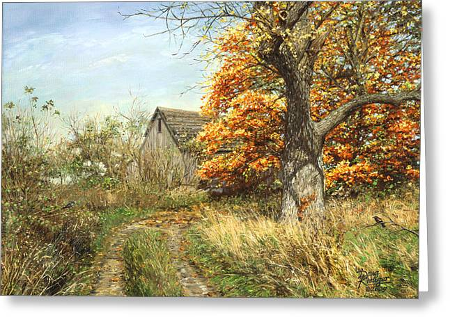 October Glory Greeting Card by Doug Kreuger