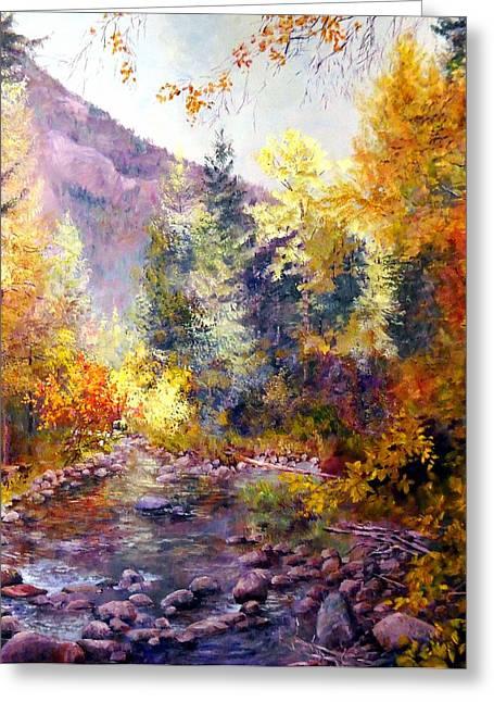 October River Greeting Card