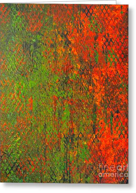 October Rust Greeting Card