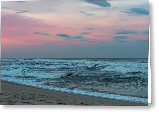 October Sky Seaside Jersey Shore Greeting Card