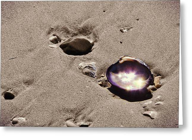 October Sparkling Greeting Card by JAMART Photography