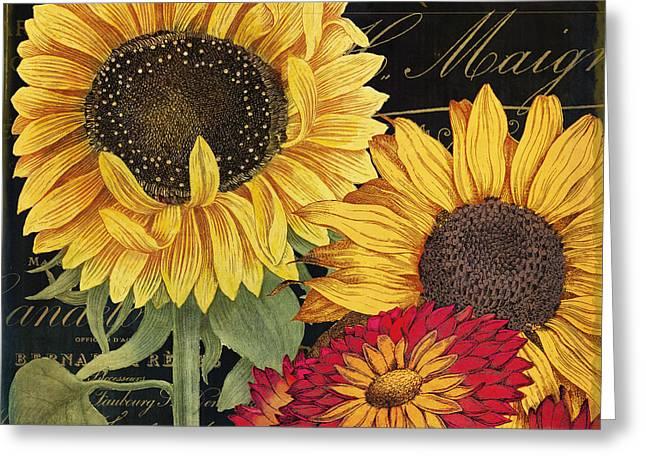 October Sun I Greeting Card by Mindy Sommers